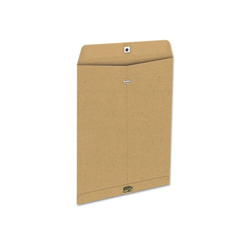 AMPAD Corporation Earthwise Envirotech 60Lb. Gummed Flap Envelope, Side Seam, 10X13, 110/Box