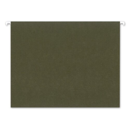 AMPAD Corporation Pendaflex Earthwise Earthwise100% Recycled Paper Hanging Folders, Letter, 25/Box