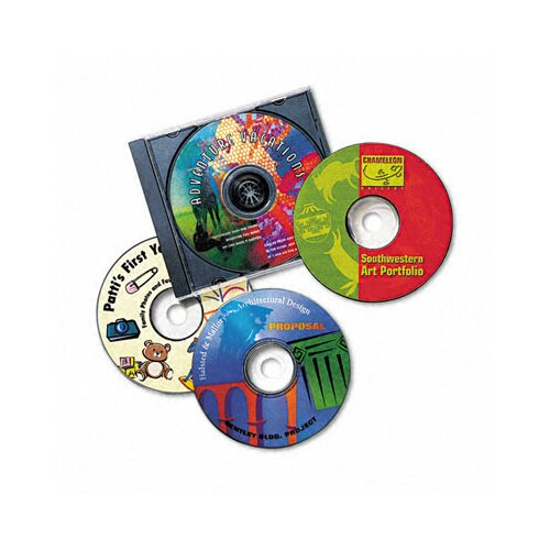 Avery Consumer Products 8692 Inkjet CD/DVD Labels (40/Pack)