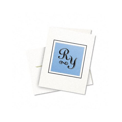 Avery Consumer Products Personal Creations Printable Textured Cards / Envelopes, 50/Box