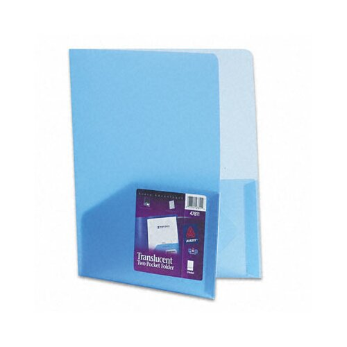 Avery Consumer Products Polypropylene Pocket Portfolio