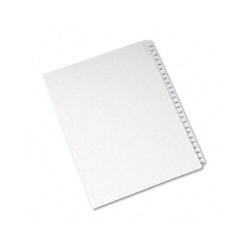 Avery Consumer Products Allstate-Style Letter Size Tab Dividers, 25-Tab, 276-300 Tab Title