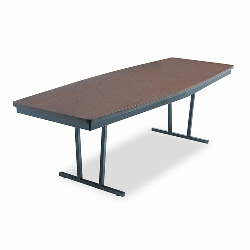 "BARRICKS MANUFACTURING CO                          Barricks Economy ""Press-O-Matic"" Folding Conference Table"