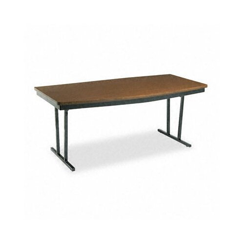 """BARRICKS MANUFACTURING CO Barricks Economy """"Press-O-Matic"""" Conference Boat 72"""" Folding Table"""