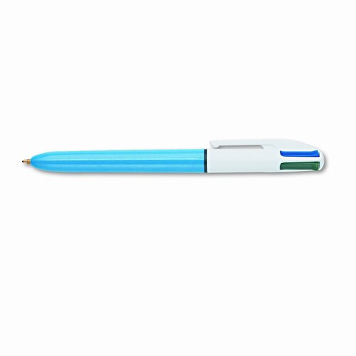 Bic Corporation Medium 4-Color Ballpoint Retractable Pen