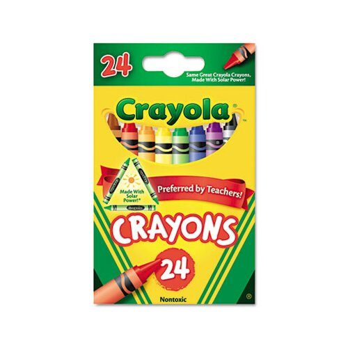 Crayola LLC Classic Color Pack Crayons (24/Box)