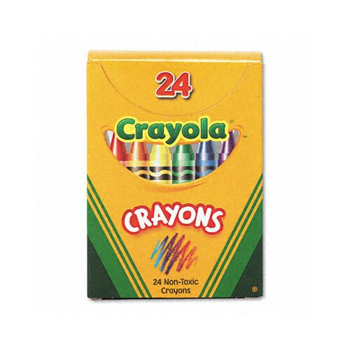 Crayola LLC Classic Color Pack Crayons (Tuck Box, 24/Box)