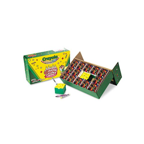 Crayola LLC Classpack Regular Crayons (13 Caddies, 832/Box)