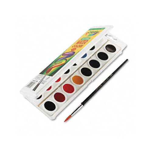 Crayola LLC Watercolors (6 Assorted Colors)
