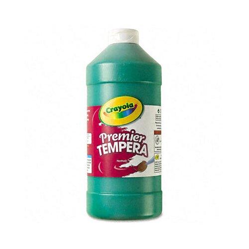 Crayola LLC Premier Tempera Paint, Green, 32 Ounces