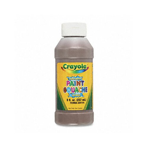 Crayola LLC Multicultural Washable Paint Pack (8 Assorted Colors, 8/Pack)