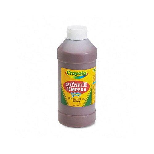 Crayola LLC Artista Ii Washable Tempera Paint, 16 Oz