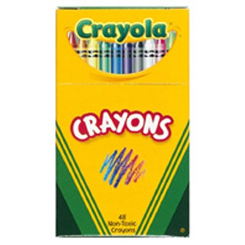 Crayola LLC Crayola Regular Size Crayon 48pk
