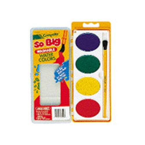 Crayola LLC So Big Washable Watercolors