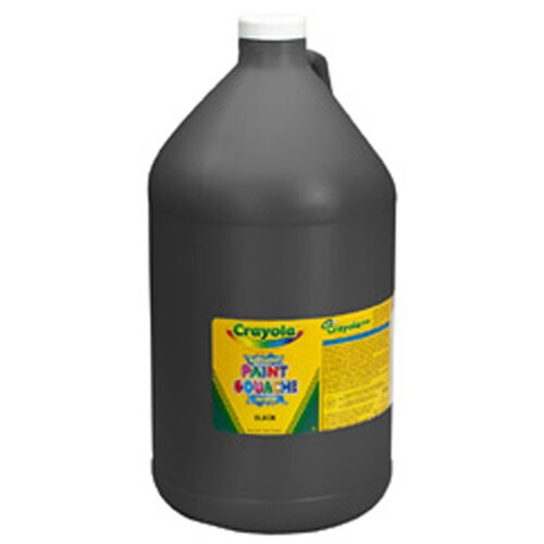 Crayola LLC Washable Paint Gallon Black