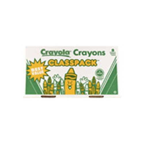 Crayola LLC 400 Large Size Crayon Classpack