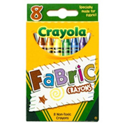 Crayola LLC Crayola Fabric Crayons 8pk