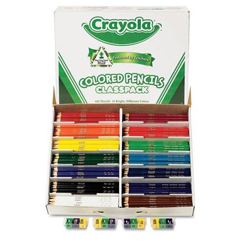Crayola LLC 3.3 Mm Woodcase Pencil Classpack (14/Box)