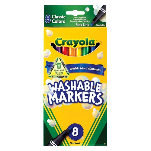 Crayola LLC Classic Markers (8 Pack)