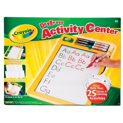 Crayola LLC Dry Erase Activity Center