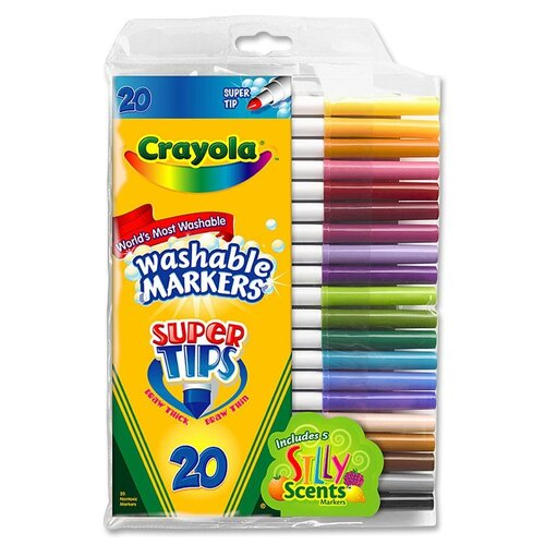 Crayola LLC Super Tips Washable Markers