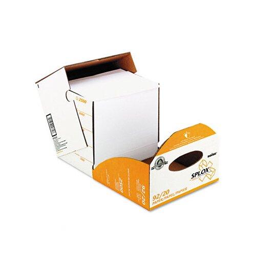 Boise® Splox Paper Delivery System, 92 Brightness, 20 lb, 8-1/2X11, 2500/Carton