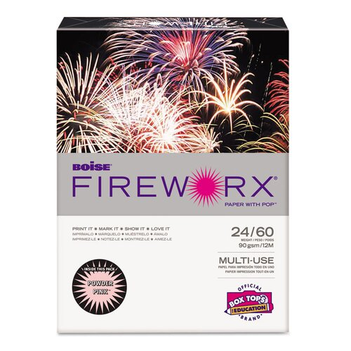 Boise® Fireworx 24-lb Colored Paper (Pack of 500)