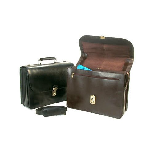 Bond Street, LTD. Executive Leather Laptop Briefcase