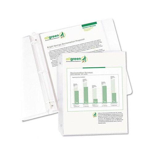 C-Line Products, Inc. Biodegradable Sheet Protectors (100/Box)