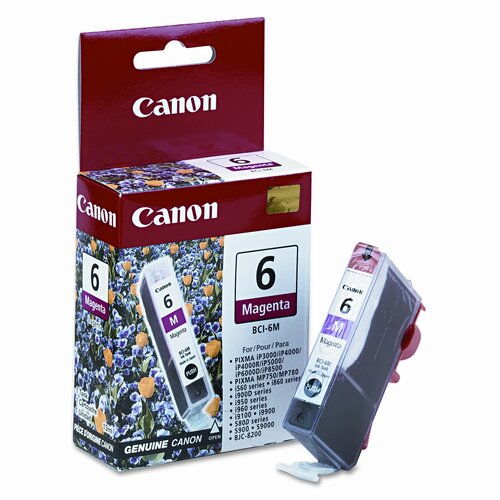 Canon Bci6M (Bci-6) Ink Tank (370 Page-Yield)