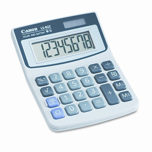 Canon 8-Digit LCD Minidesk Calculator