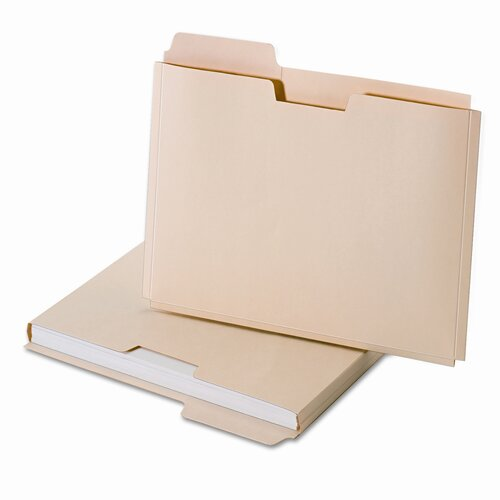 Cardinal Brands, Inc Globe-Weis Expanding File Folder Pocket, Letter, 11 Point Manila (10/Pack)
