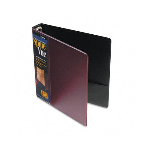 "Cardinal Brands, Inc Spinevue Round Ring View Binder, 1.5"" Capacity"