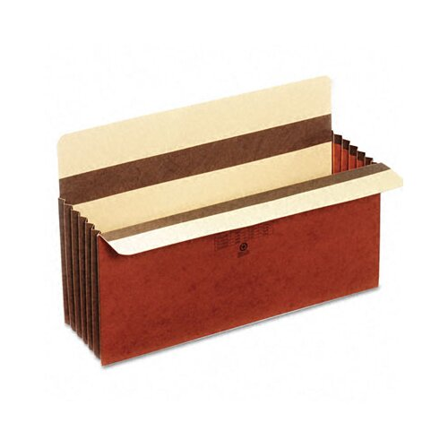 "Cardinal Brands, Inc Globe-Weis 5.25"" Expansion Accordion Pocket, Straight Cut, Redrope, Legal (10/Box)"