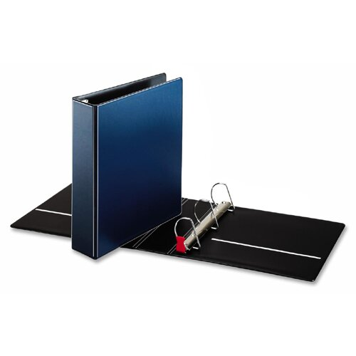 "Cardinal Brands, Inc D-Ring Binder, 2"" Capacity, 11""x8-1/2"", Medium Blue"