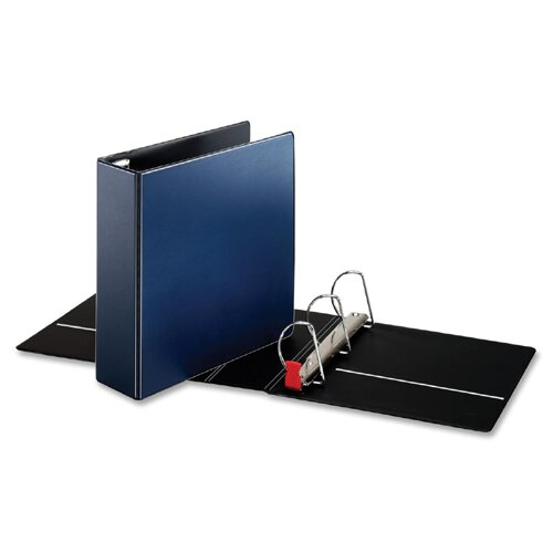 "Cardinal Brands, Inc D-Ring Binder, 3"" Capacity, 8-1/2""x11"", Navy"