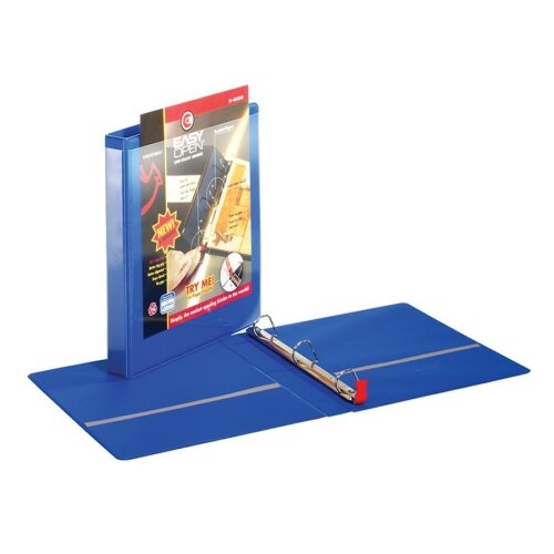 "Cardinal Brands, Inc Locking Slant-D Ring Binders w/ Lifters, w/ Sheet Lifter, 1"" Cap., BE"