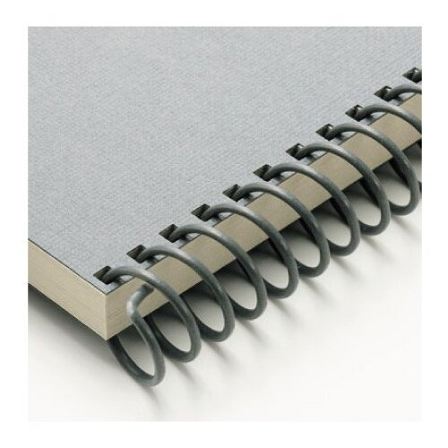 "Carl Manufacturing Carla Craft 12"" 18mm Binding System Spiral Ring in Charcoal Gray"
