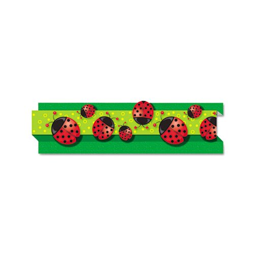 Carson-Dellosa Publishing Ladybugs Pop-It Border, 8 Strips/Pack
