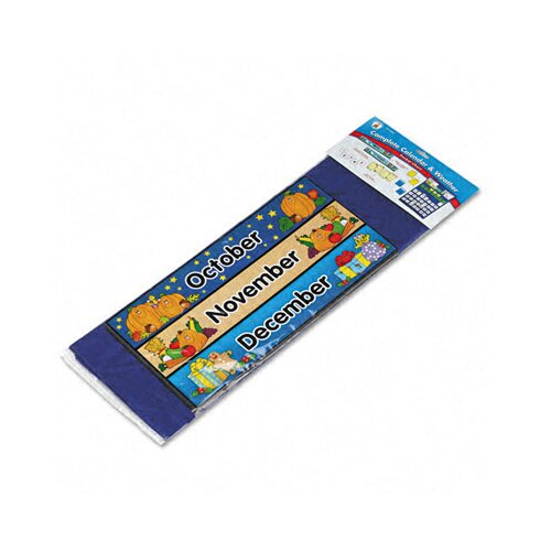 Carson-Dellosa Publishing Calendar/Weather Pocket Chart with Assorted Cards