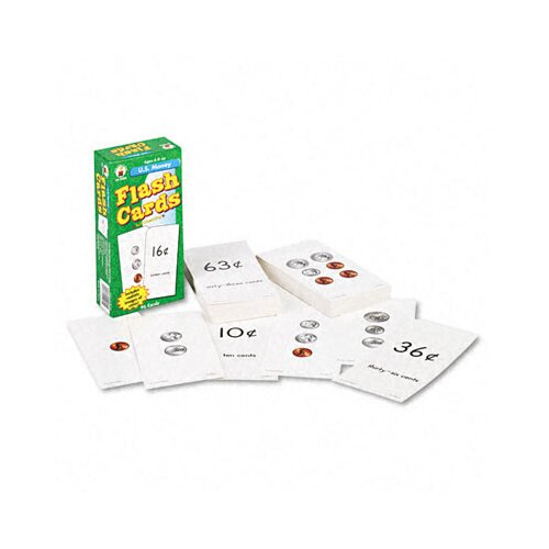 Carson-Dellosa Publishing Money Flash Cards, U.S, 96/Pack