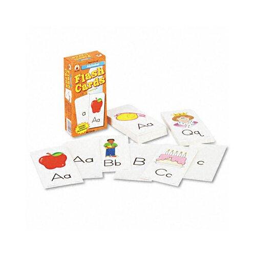 Carson-Dellosa Publishing Alphabet Flash Cards, 80/Pack