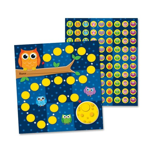 Carson-Dellosa Publishing Owls Mini Incentive Charts
