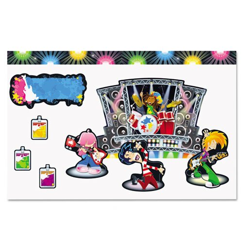 Carson-Dellosa Publishing Rock Stars Bulletin Board Set