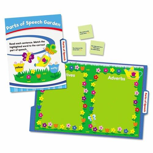 Carson-Dellosa Publishing Language Arts File Folder Games Book for Grade 3