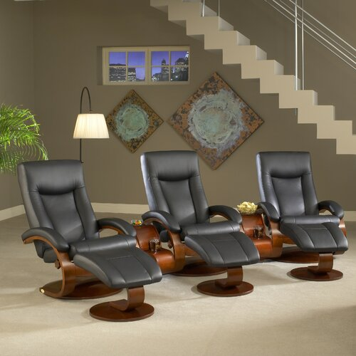 Oslo 54 Home Theater Recliner (Set of 3)