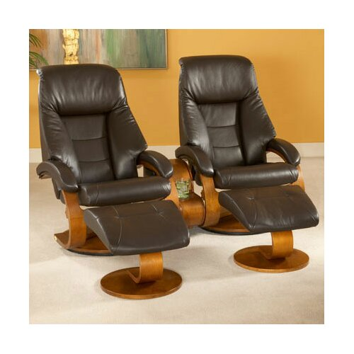 Mac Motion Oslo 58 Home Theater Recliner (Set of 2)