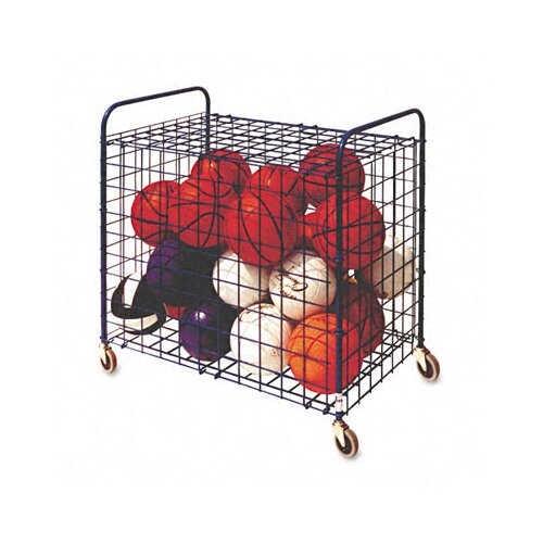 "Champion Sports 22.33"" Lockable Ball Storage Cart"