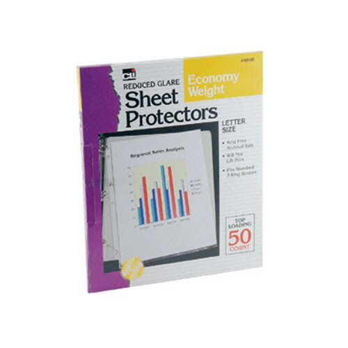 Charles Leonard Co. Top Loading Sheet Protectors Reduced