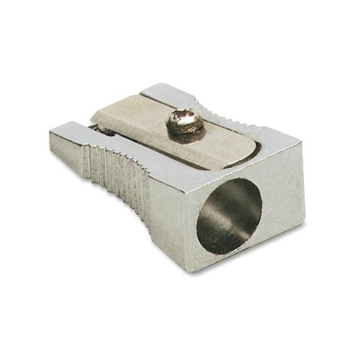 Charles Leonard Co. Pencil Sharpener for Standard Pencils, 1-Hole, Metal